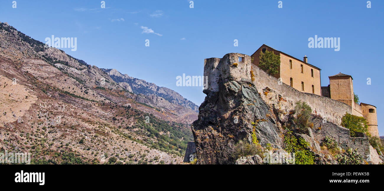 Los paisajes de Córcega Francia Europa Foto de stock