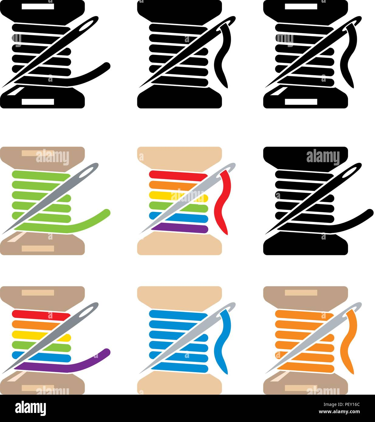 Needlework Vector Vectors Imágenes De Stock & Needlework Vector ...
