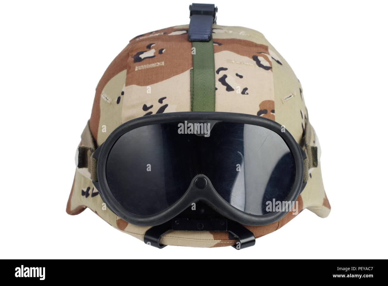 Ejército casco Kevlar con gafas NVG b9b2c9365ae