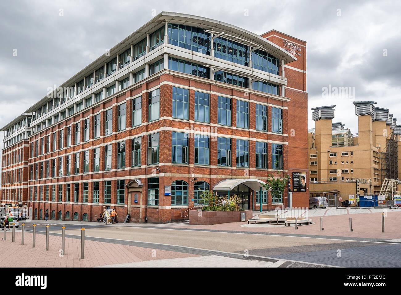 Facultad de Economía, Derecho y Empresariales de la Universidad de Coventry Imagen De Stock