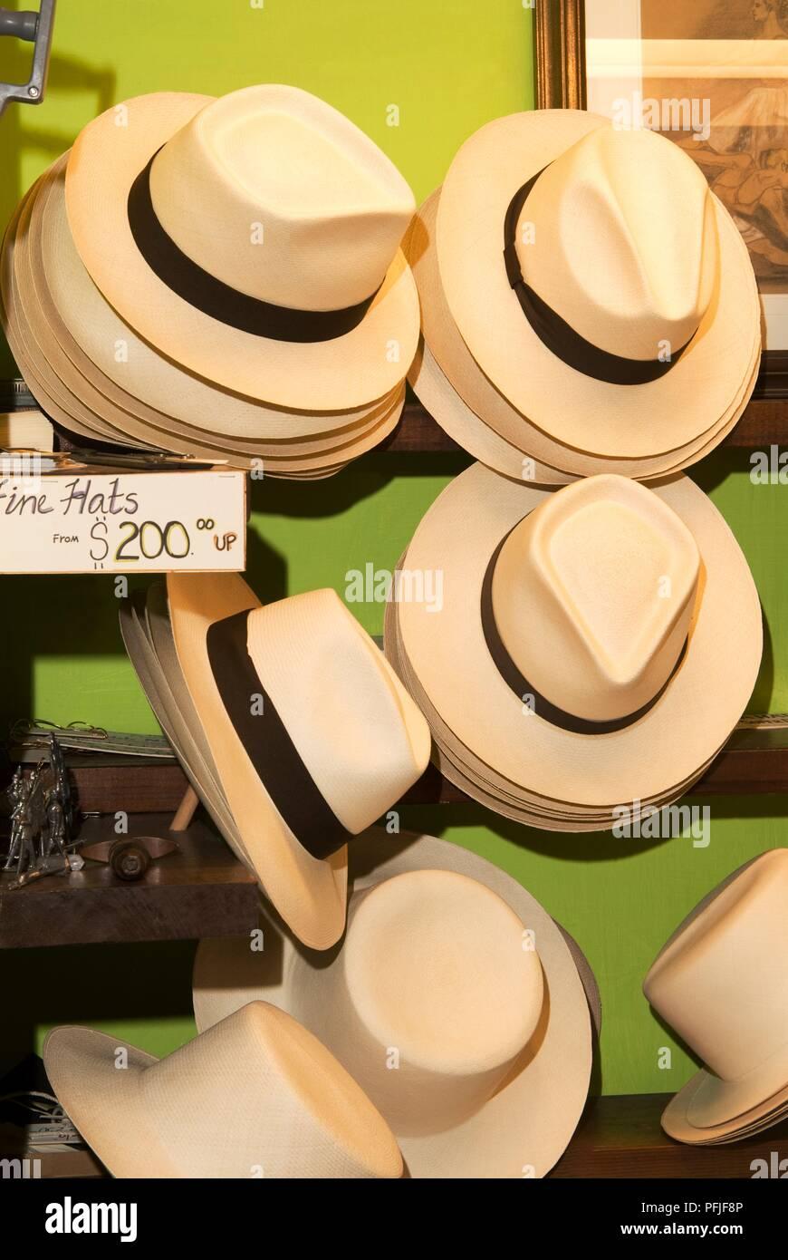 Puerto rico san juan los sombreros panamá en la pantalla en la tienda  imagen jpg 870x1390 7994a7e9d0c