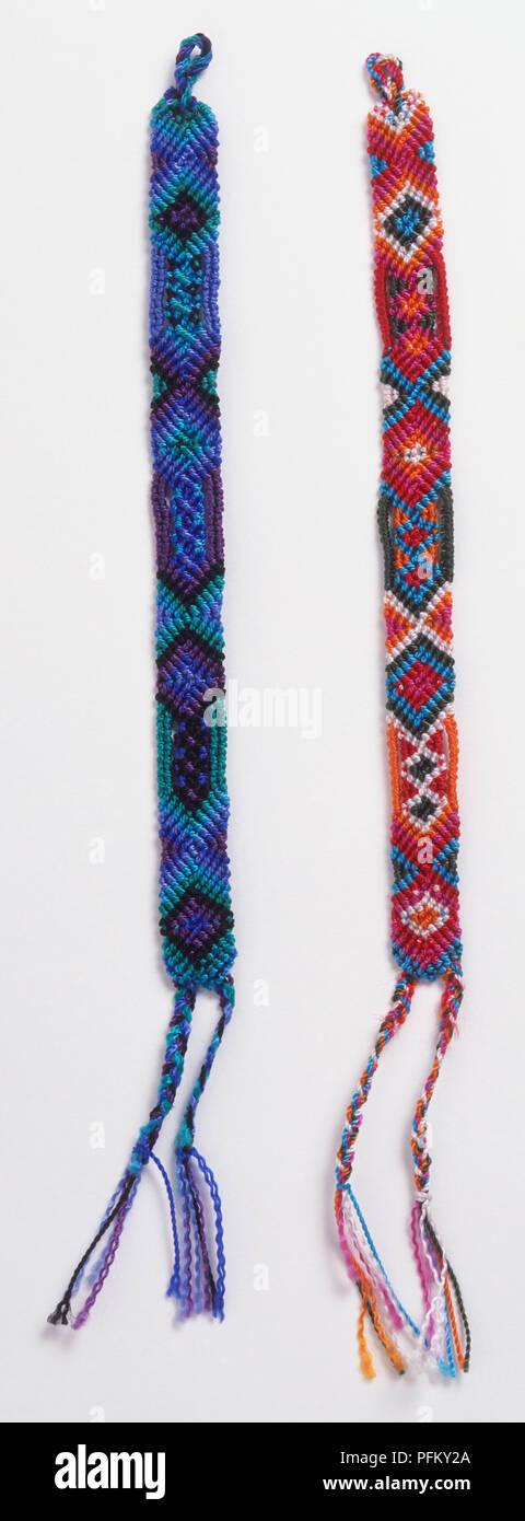 Friendship Bracelets Imágenes De Stock & Friendship Bracelets Fotos ...