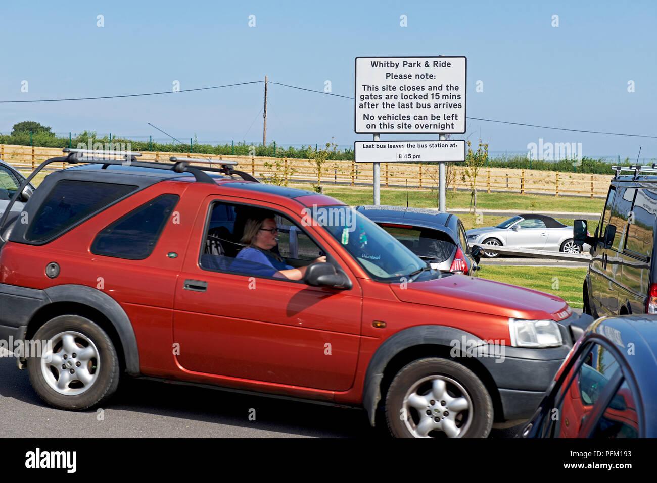 Woman Parking Car Britain Imágenes De Stock   Woman Parking Car ... 6470c8527357f