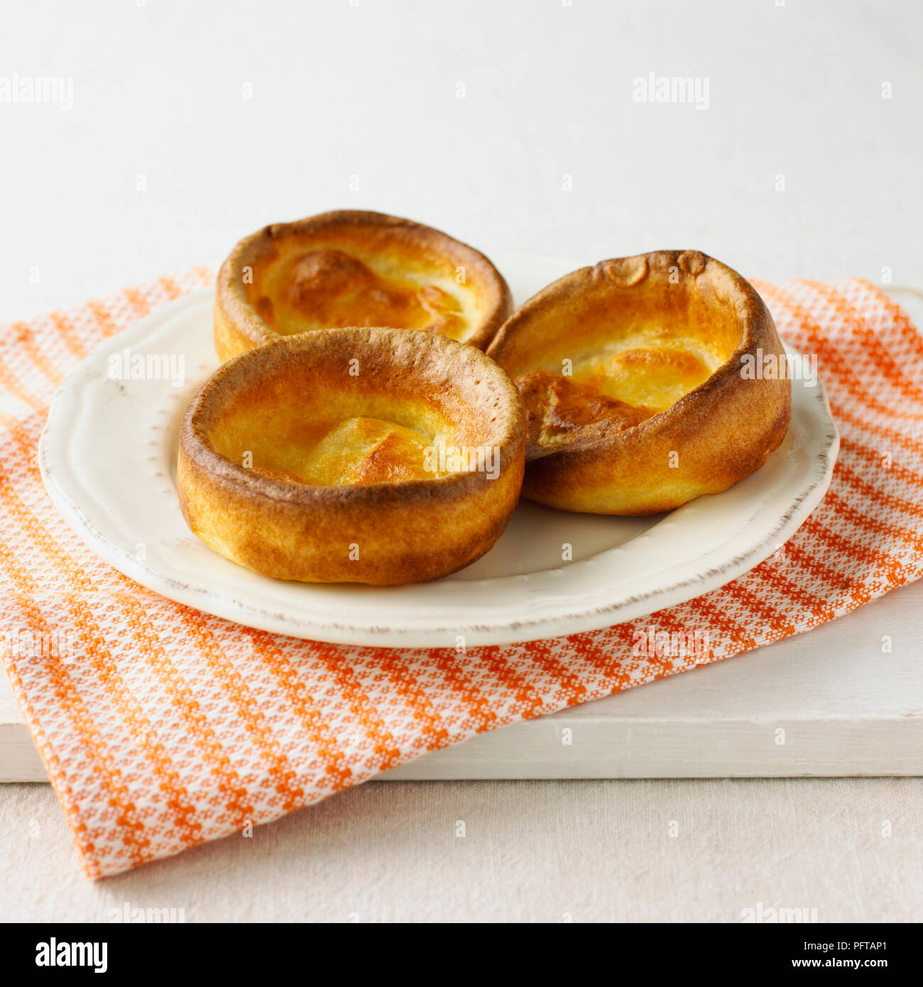 Los pudines Yorkshire Imagen De Stock