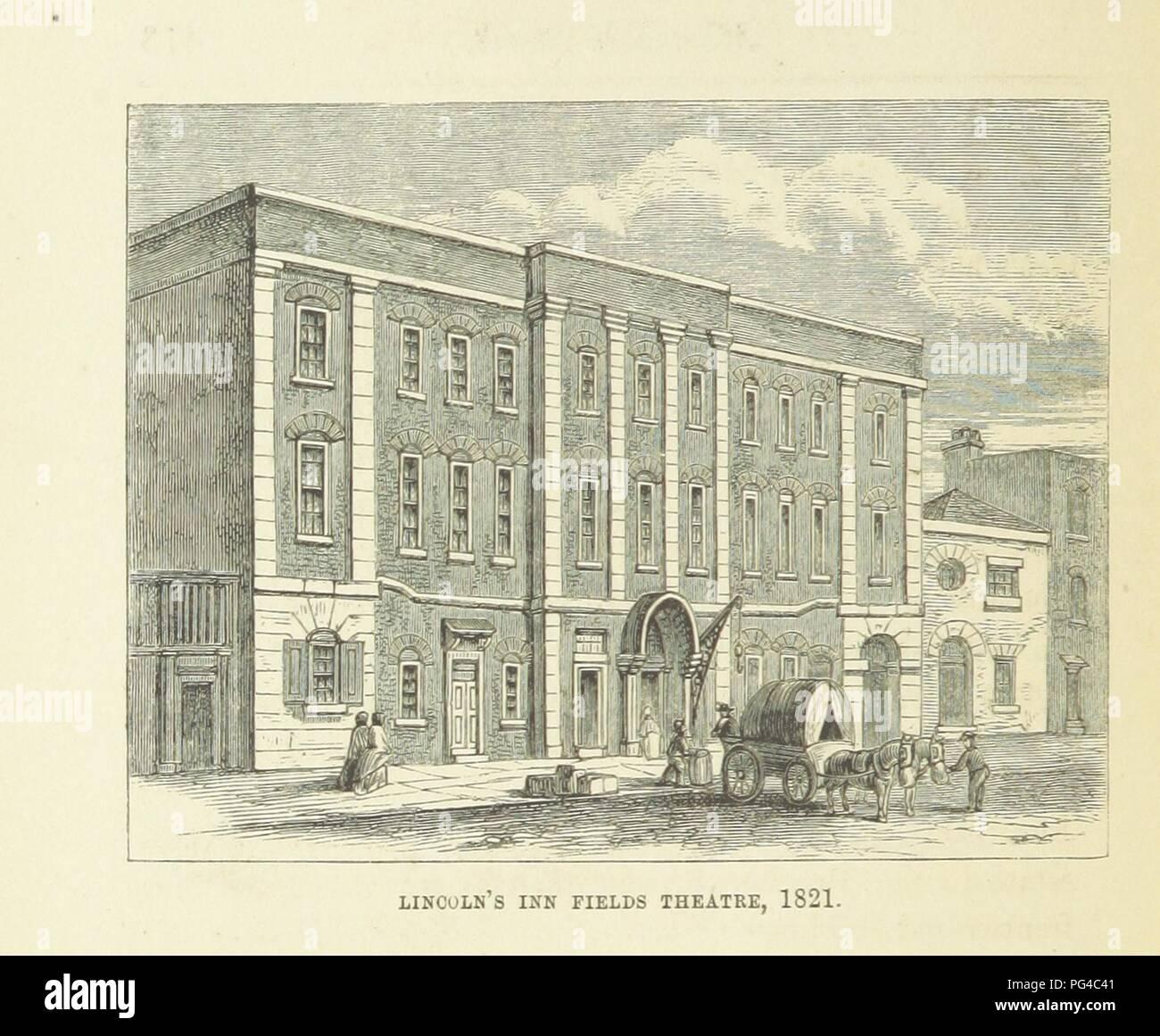 """Imagen de la página 438 de """"Haunted Londres ... Ilustrado por F. W. Fairholt' . Imagen De Stock"""