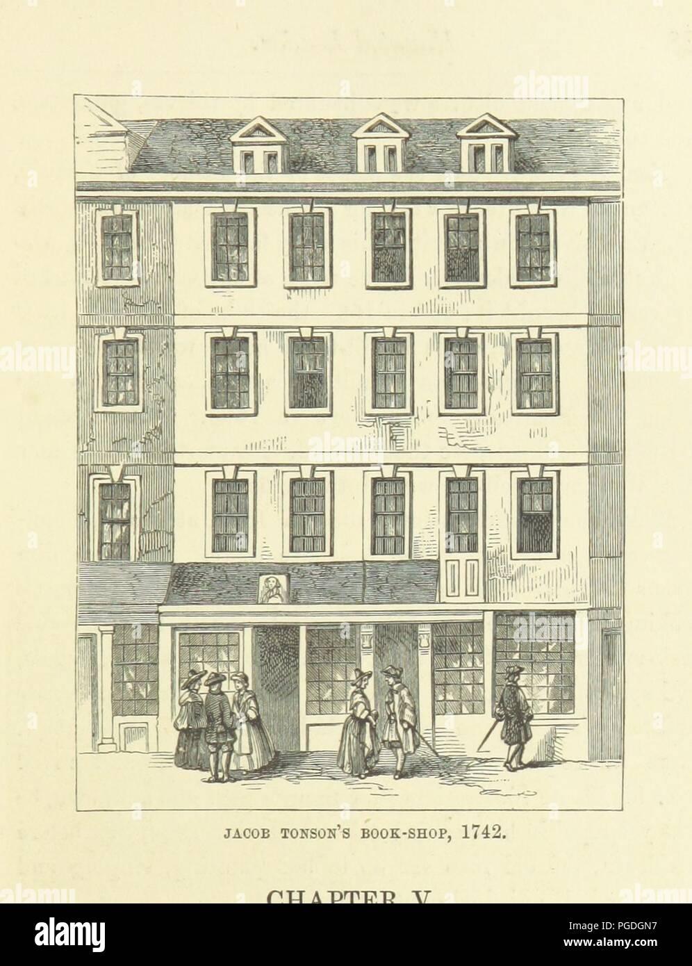 """Imagen de la página 111 de """"Haunted Londres ... Ilustrado por F. W. Fairholt' . Imagen De Stock"""