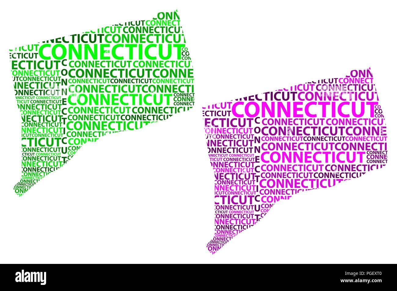 Boceto de Connecticut (Estados Unidos de América, la Constitución ...