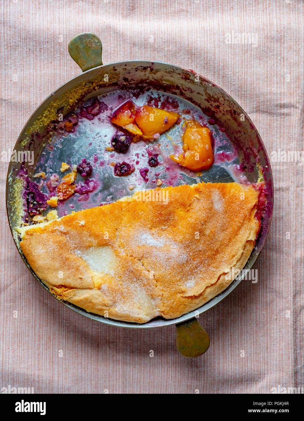 Pastel de fruta Imagen De Stock
