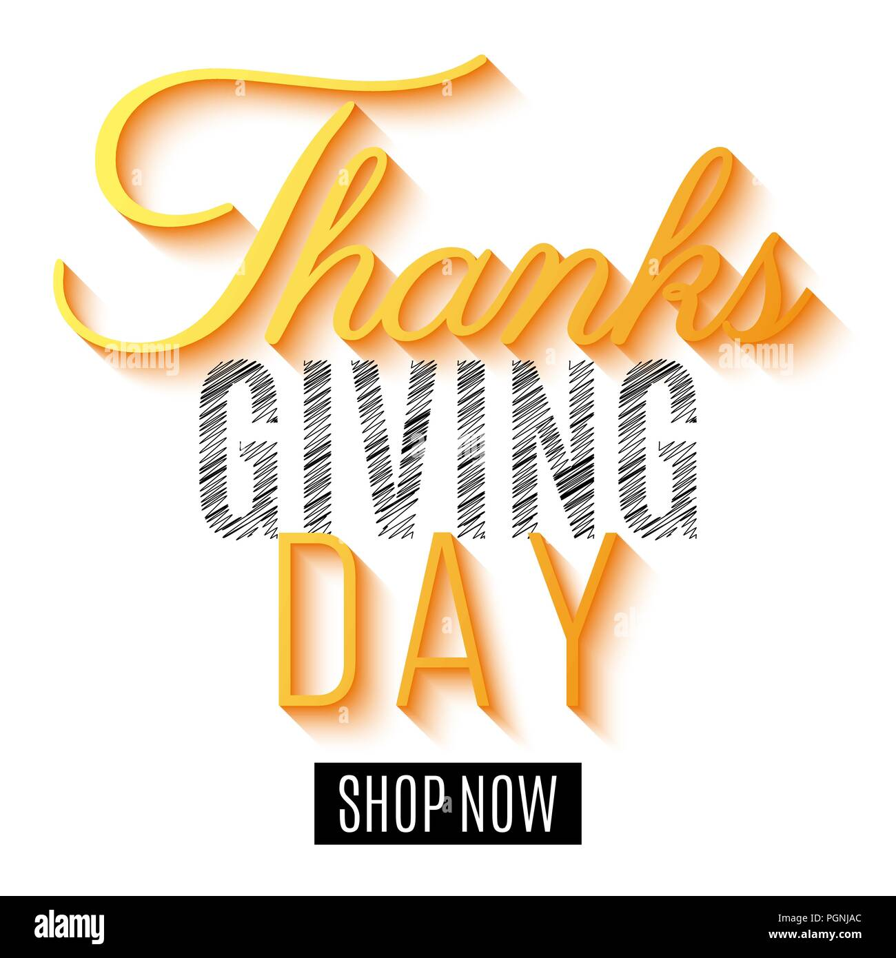 Feliz Día De Acción De Gracias Flyer Para La Venta Tarjeta De