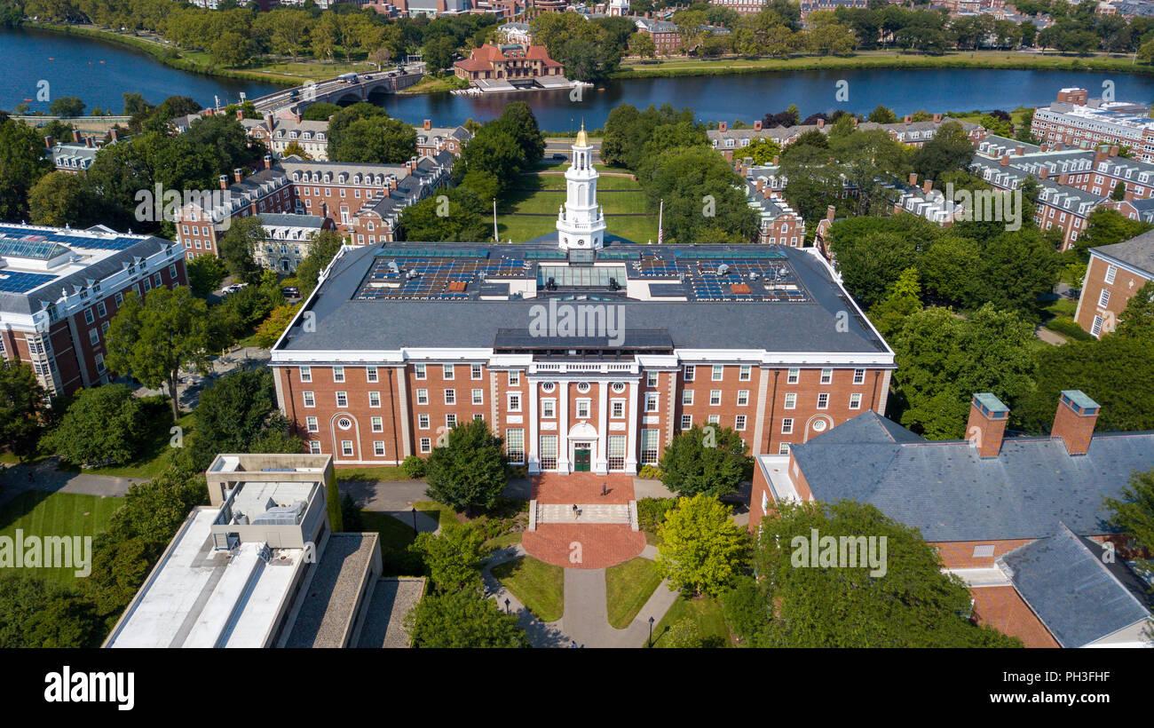 La Escuela de Negocios de Harvard, Boston, MA, EE.UU. Imagen De Stock