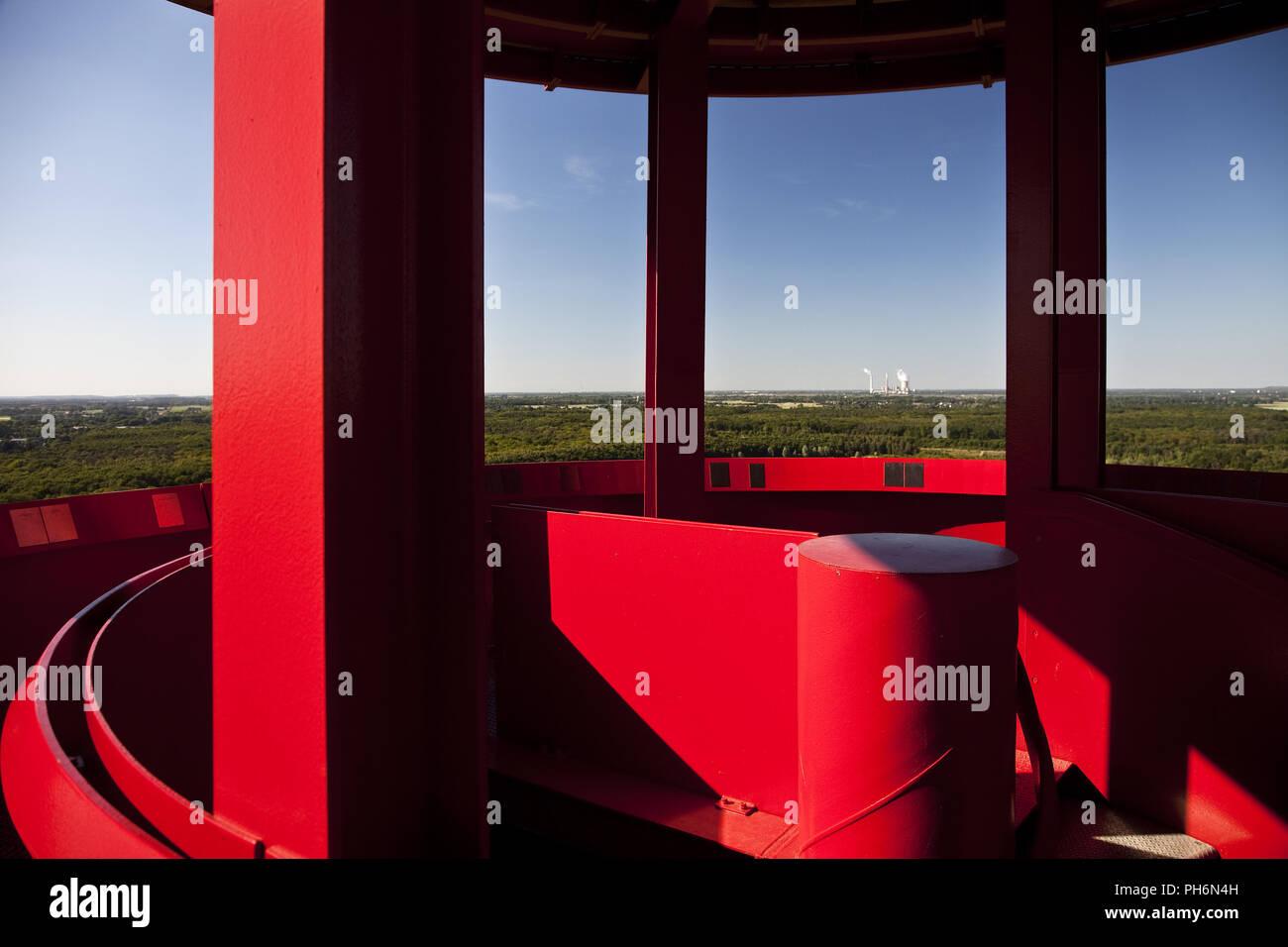 Lámpara Minera, punta Rheinpreussen, Moers, Alemania Imagen De Stock