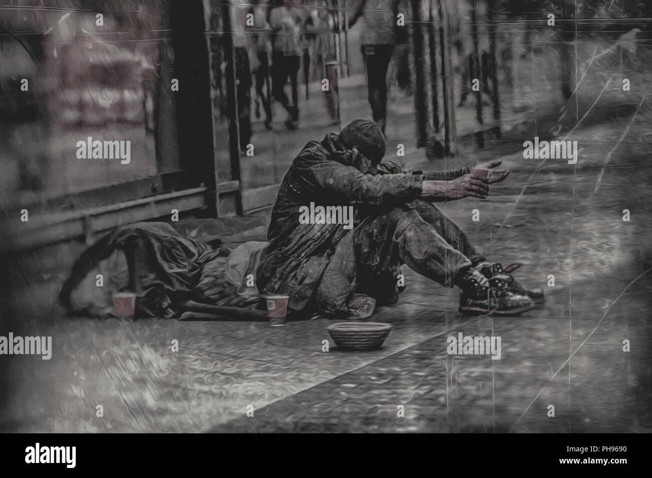 Pobreza Imagen De Stock