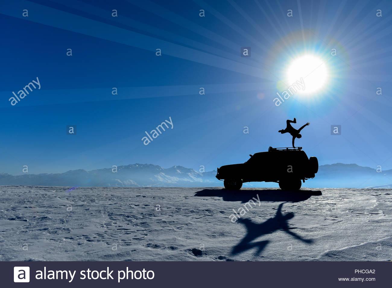 Potencia, equilibrio y motivación Imagen De Stock