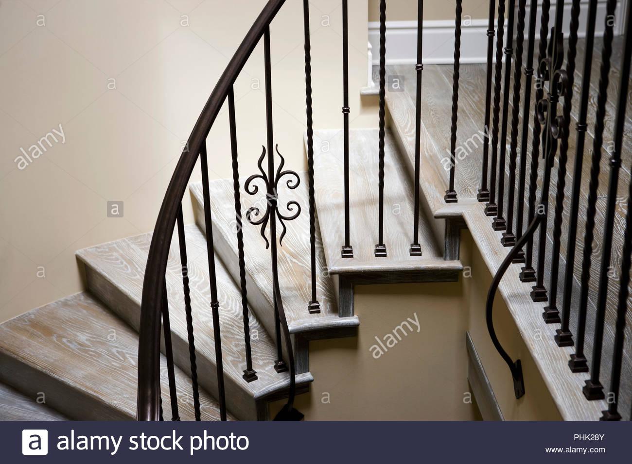 Escalera de caracol Imagen De Stock