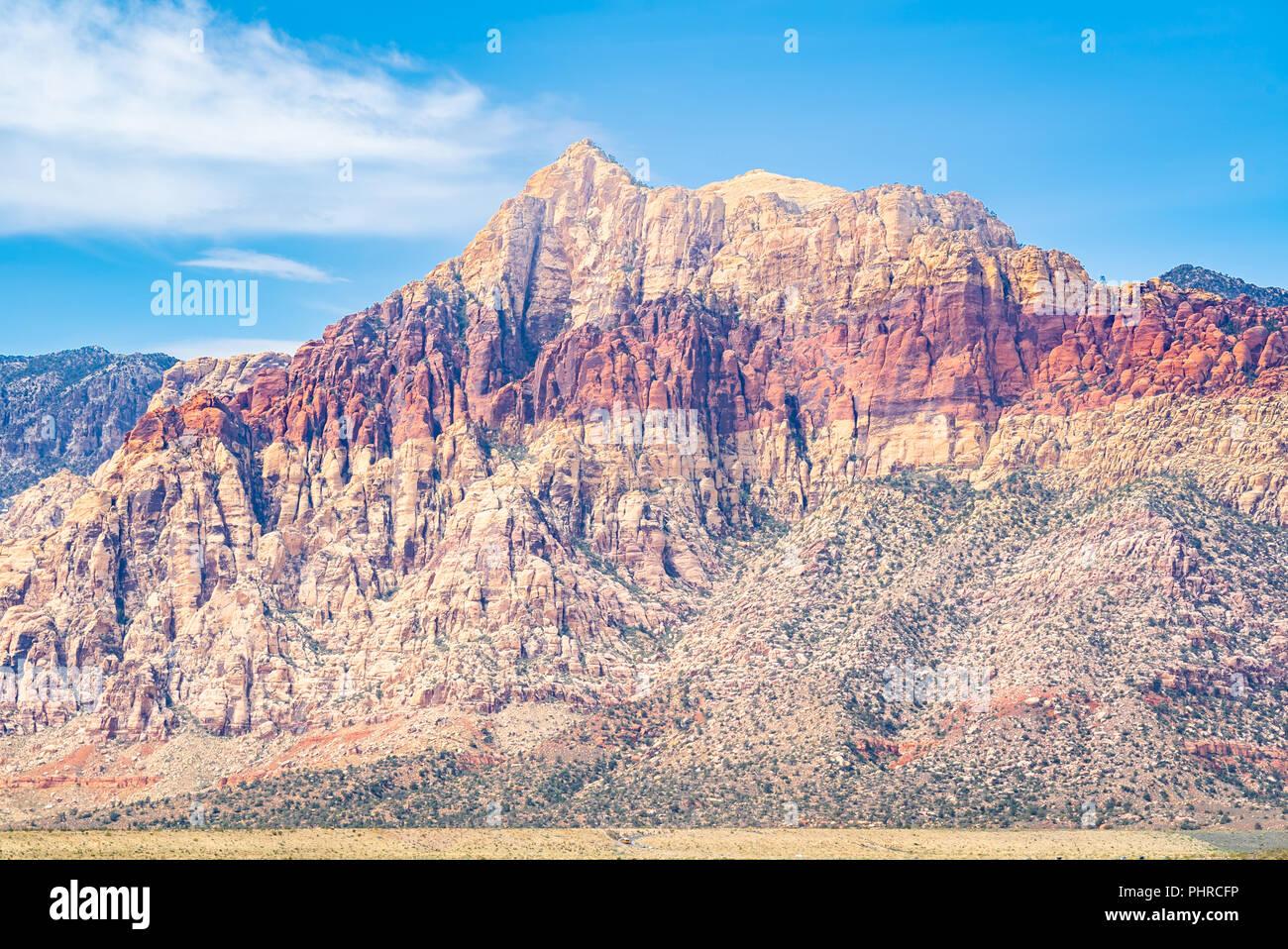 Las Vegas Red Rock Canyon Foto de stock