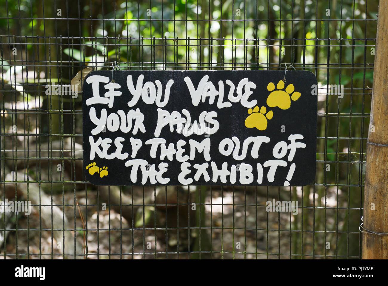 Zoológico de Belice Imagen De Stock