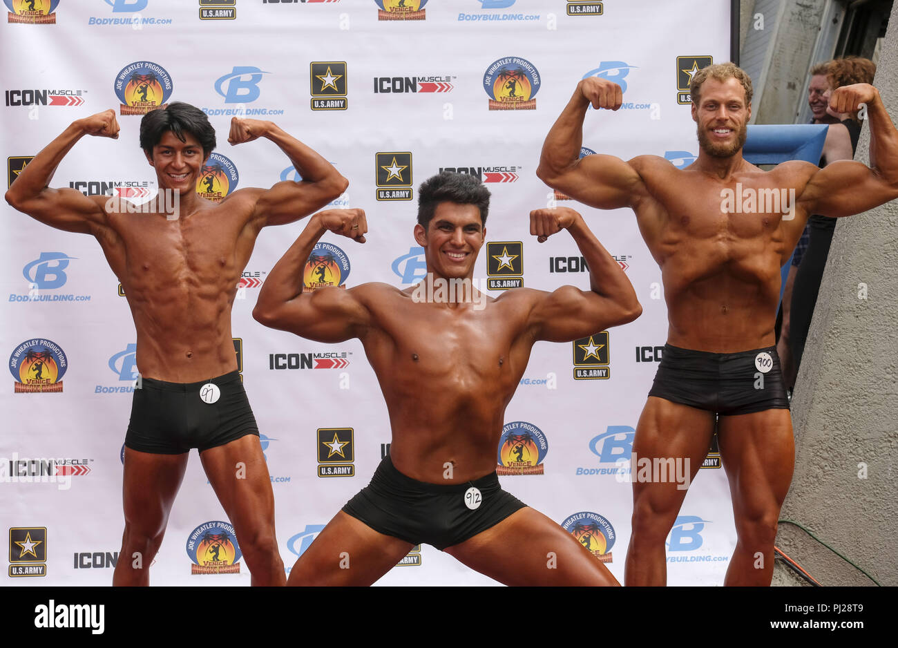 De Bodybuilding Beach Imágenes Muscle Venice Stock LSzMVUqpG
