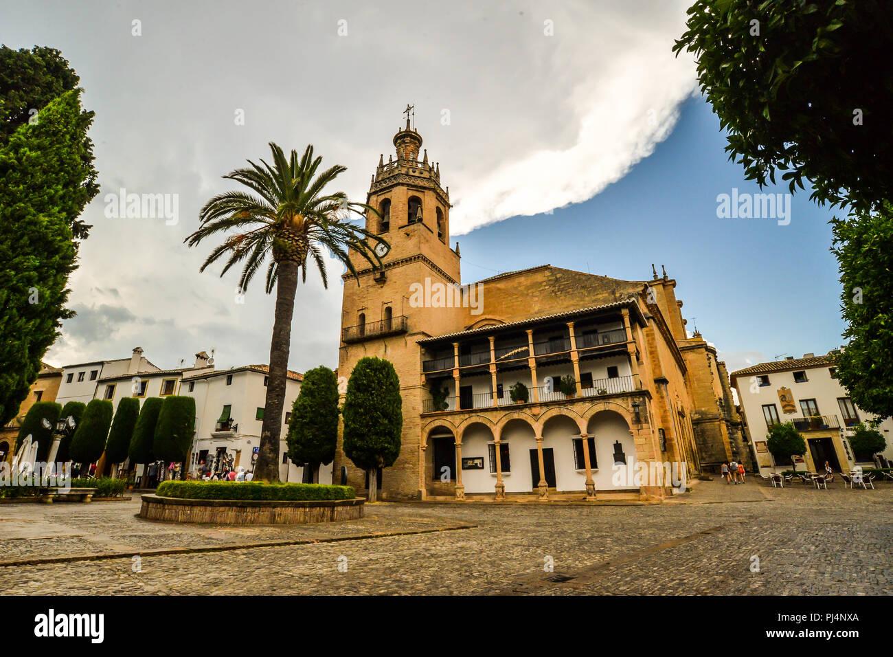 La ciudad de Ronda en Andalucía - España Imagen De Stock