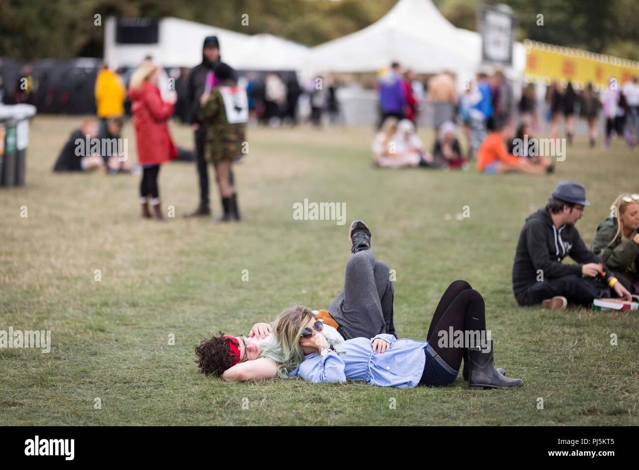 Leeds Festival 2018 - Viernes. Foto de stock