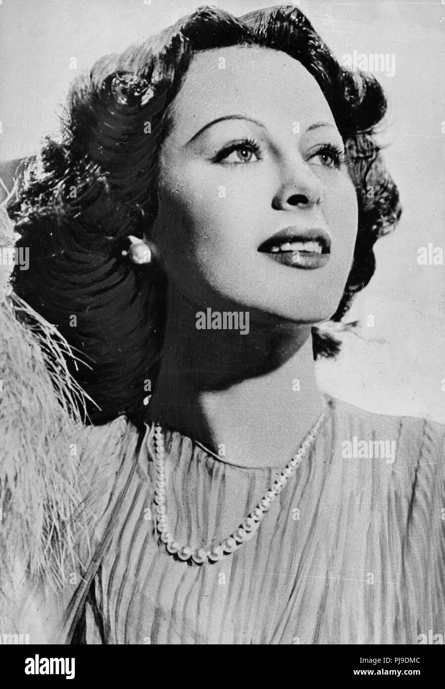 Hedy Lamarr, 30s Imagen De Stock