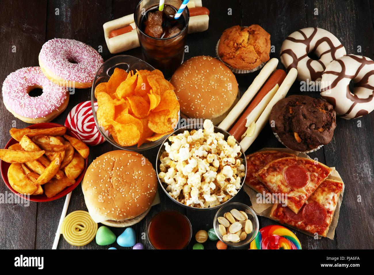 los productos poco saludables la comida mala por la figura la piel el coraz n y los dientes. Black Bedroom Furniture Sets. Home Design Ideas