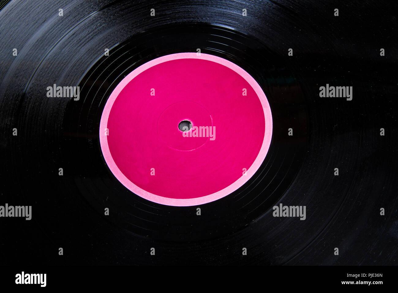 Disco de vinilo del álbum Foto de stock