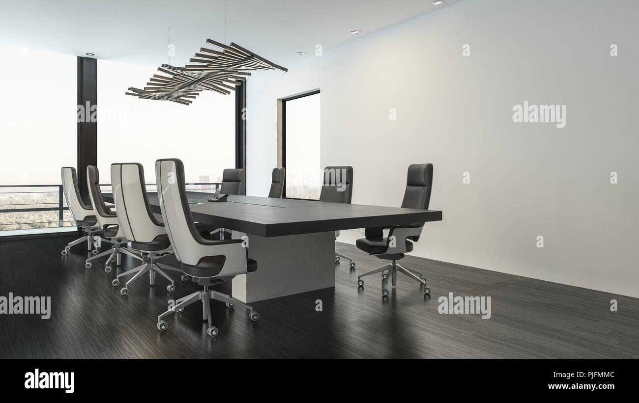 Decoración Interior Elegante Y Con Blanco Minimalista En Sala Negro yf7gI6bYv