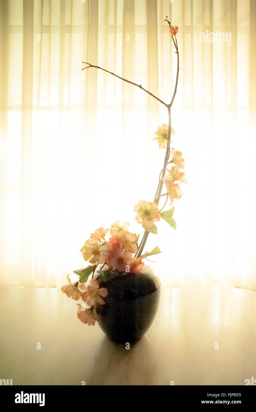 Arreglos Florales Japoneses Foto Imagen De Stock