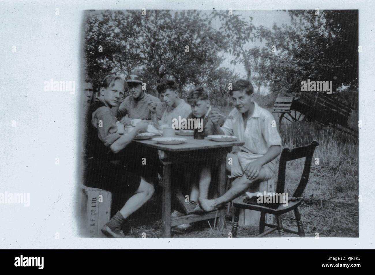 5º Jamboree Scout Mundial, celebrada en Bloemendaal Vogelenzang Holanda, Holanda,1937 Imagen De Stock
