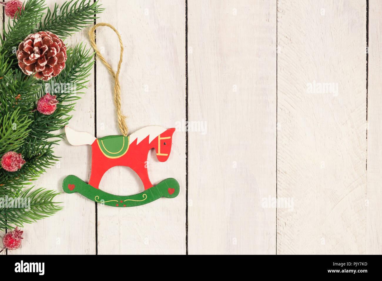 Navidad De Con Sobre Juguete El Abeto Mostrador Madera Ramas XikPZOu