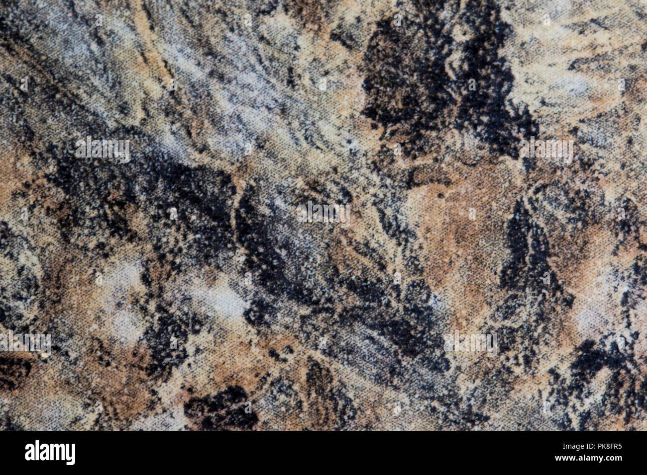 Roca de mármol cerca de la superficie. Piedra de granito natural elemento de diseño. Recurso gráfico de material de piedra. Foto de stock
