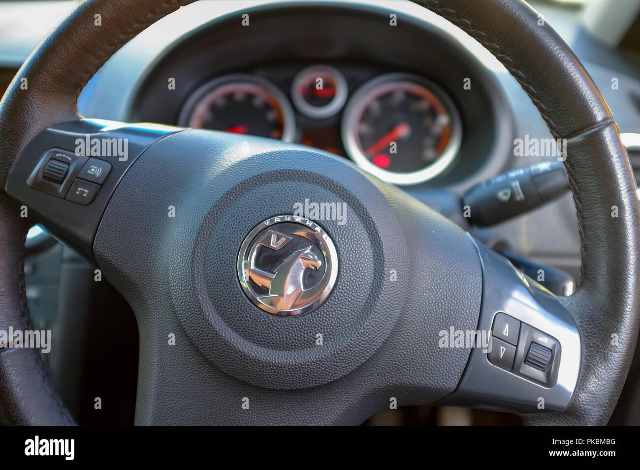 Vauxhall Corsa volante Imagen De Stock