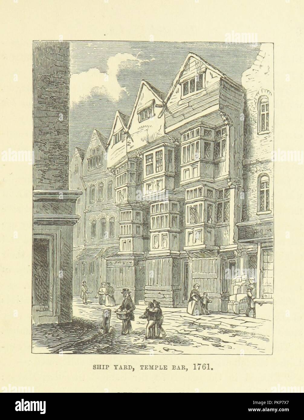 """Imagen de la página 29 de """"Haunted London . Ilustrado por F. W. Fairholt' . Imagen De Stock"""