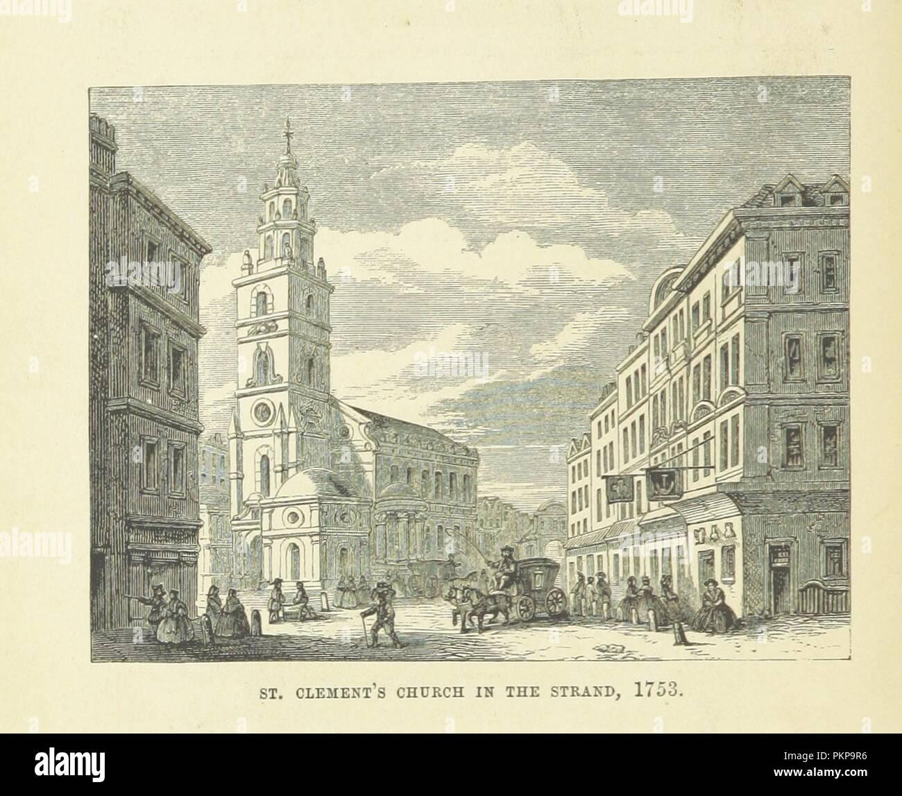"""Imagen de la página 50 de """"Haunted London . Ilustrado por F. W. Fairholt' . Imagen De Stock"""