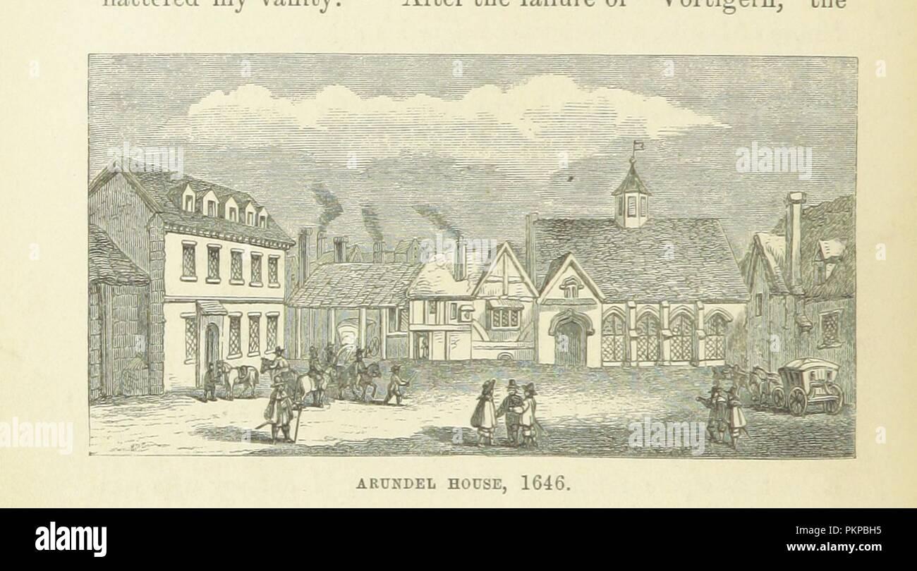 """Imagen de la página 72 de """"Haunted London . Ilustrado por F. W. Fairholt' . Imagen De Stock"""