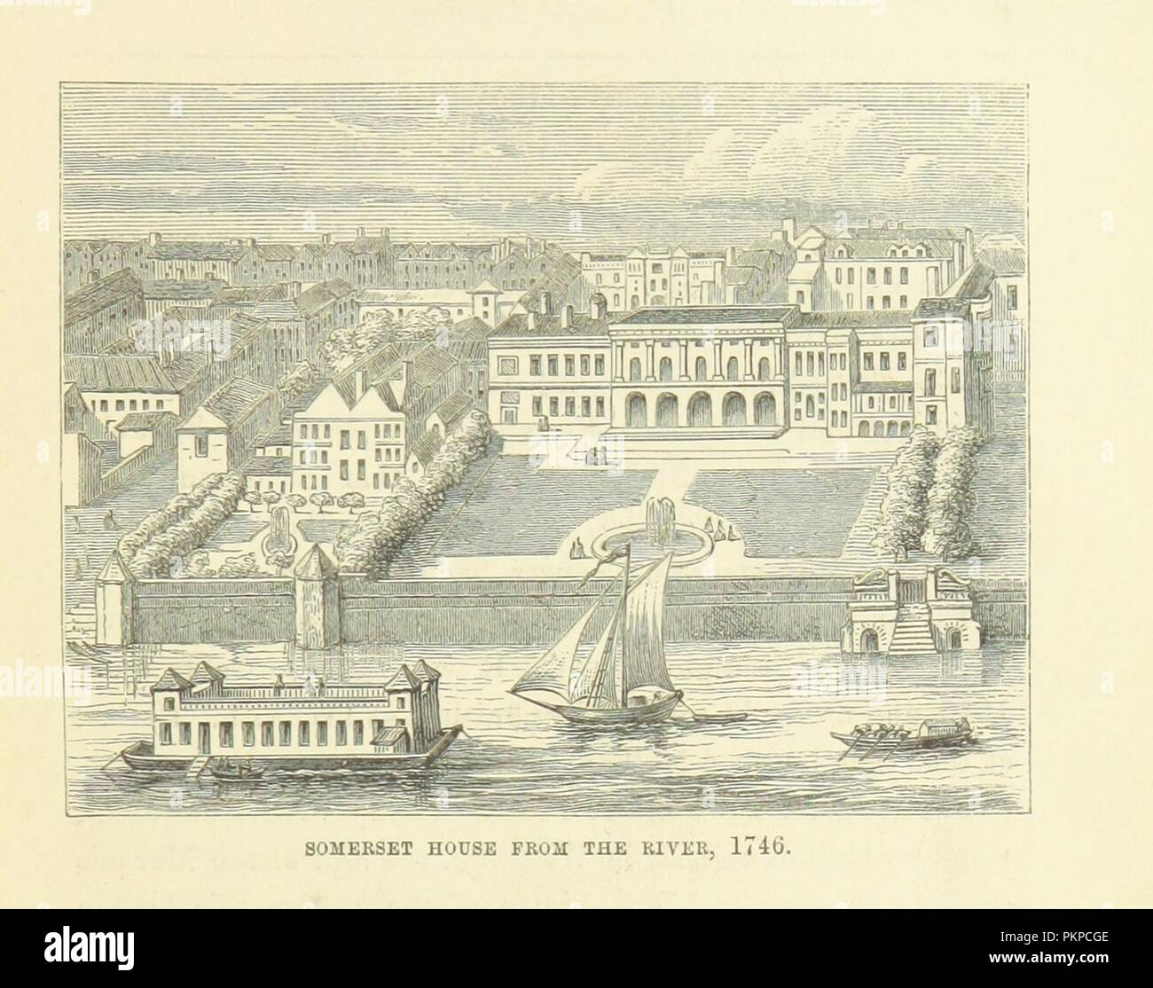 """Imagen de la página 83 de """"Haunted London . Ilustrado por F. W. Fairholt' . Imagen De Stock"""