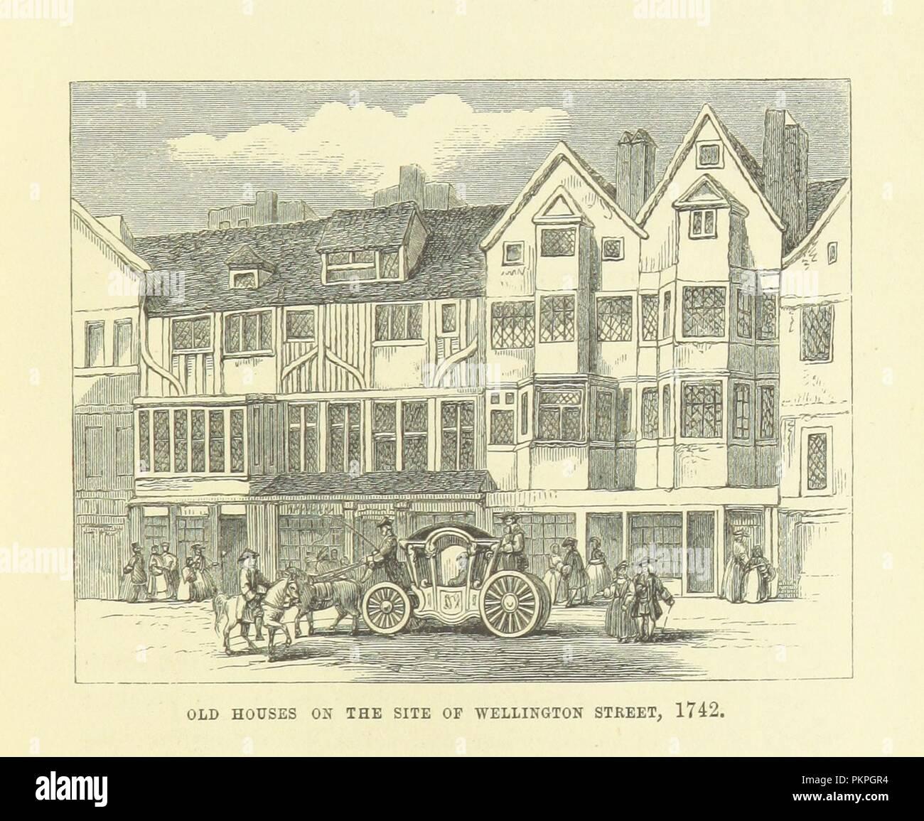 """Imagen de la página 135 de """"Haunted London . Ilustrado por F. W. Fairholt' . Imagen De Stock"""