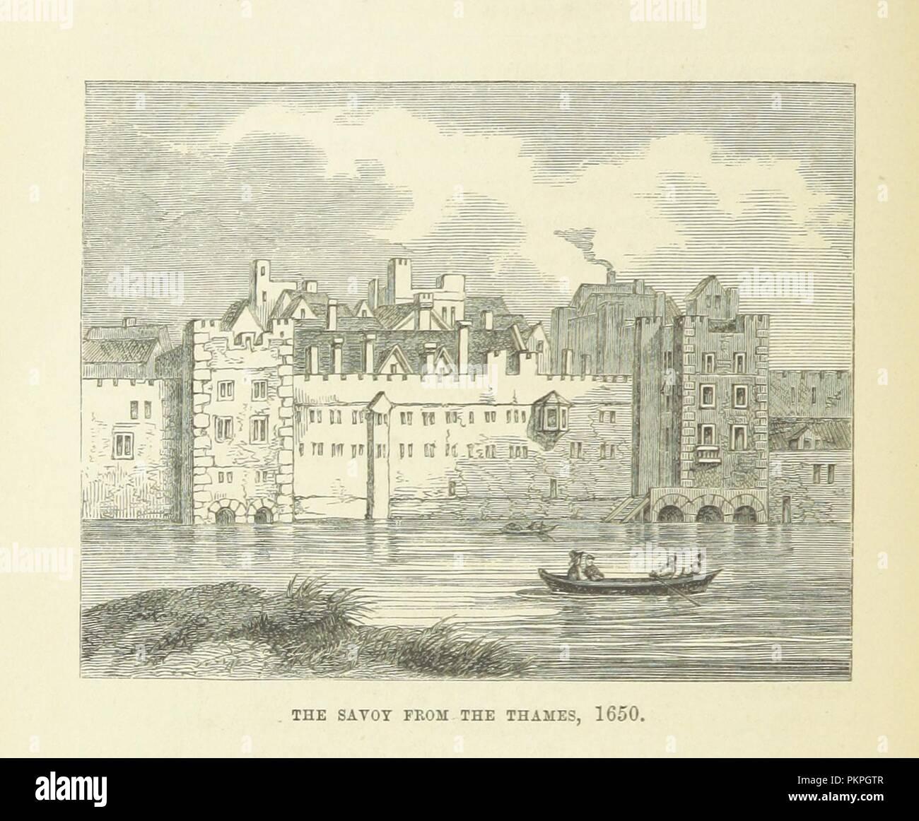 """Imagen de la página 136 de """"Haunted London . Ilustrado por F. W. Fairholt' . Imagen De Stock"""