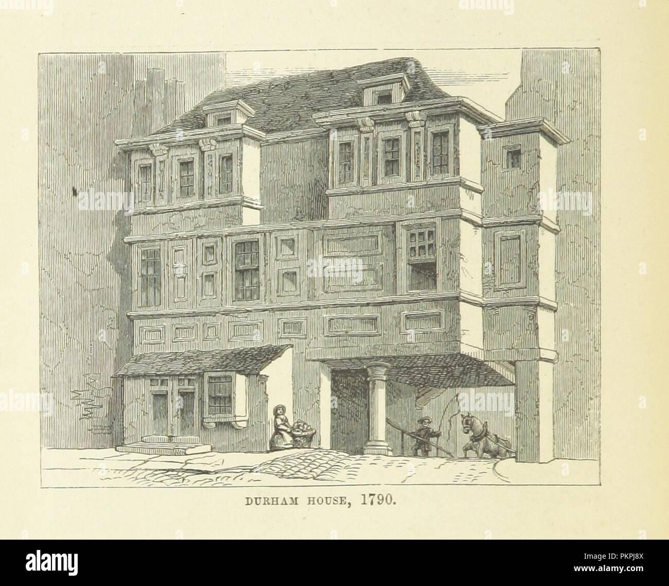 """Imagen de la página 158 de """"Haunted London . Ilustrado por F. W. Fairholt' . Imagen De Stock"""