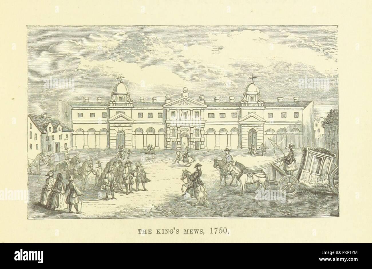 """Imagen de la página 277 de """"Haunted London . Ilustrado por F. W. Fairholt' . Imagen De Stock"""