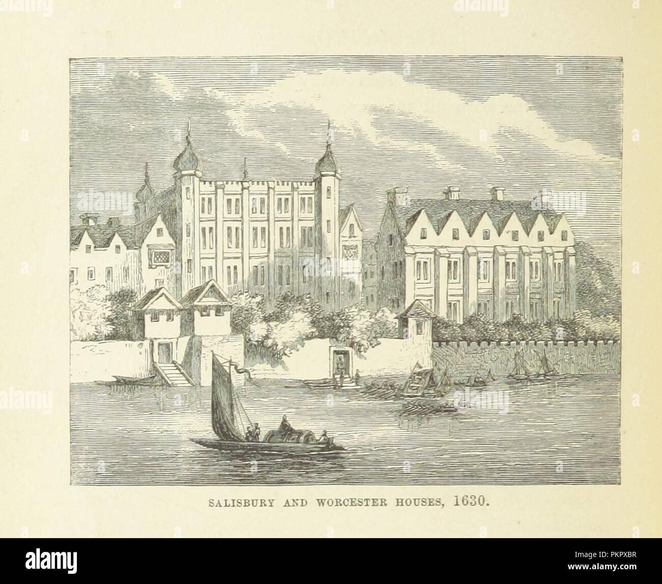 """Imagen de la página 302 de """"Haunted London . Ilustrado por F. W. Fairholt' . Imagen De Stock"""