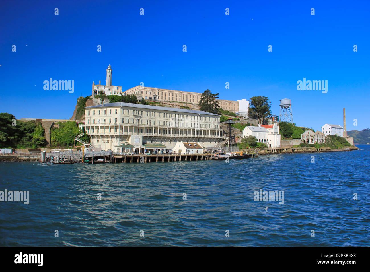 Alcatraz, San Francisco. Foto de stock