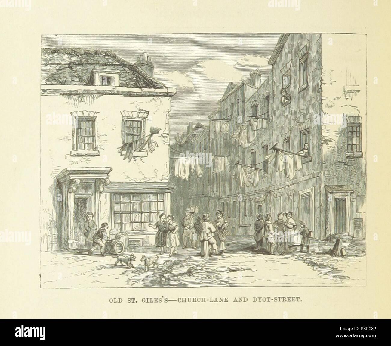"""Imagen de la página 396 de """"Haunted London . Ilustrado por F. W. Fairholt' . Imagen De Stock"""