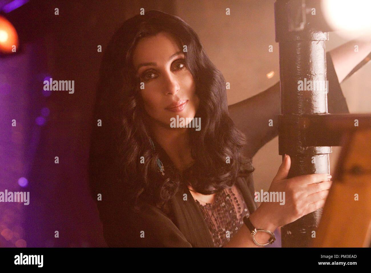 Cher estrellas en Screen Gems' burlesque. Imagen De Stock