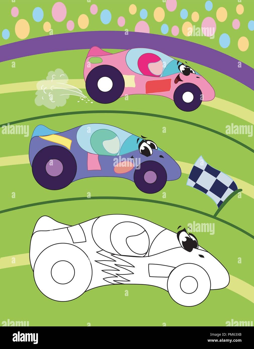 Página Del Libro Para Colorear Para Los Niños Preescolares