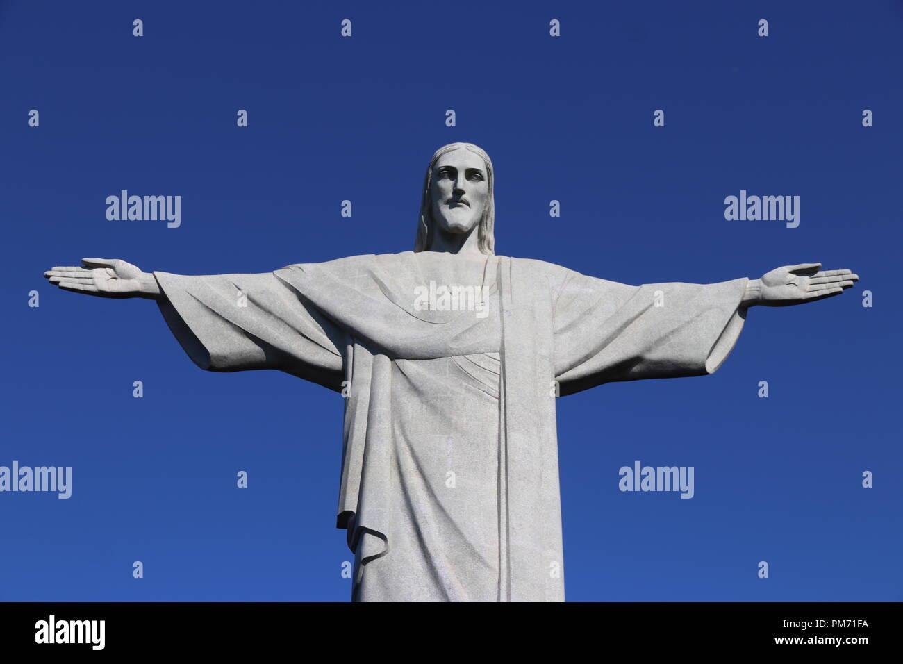 Cristo Redentor - Río de Janeiro. Imagen De Stock