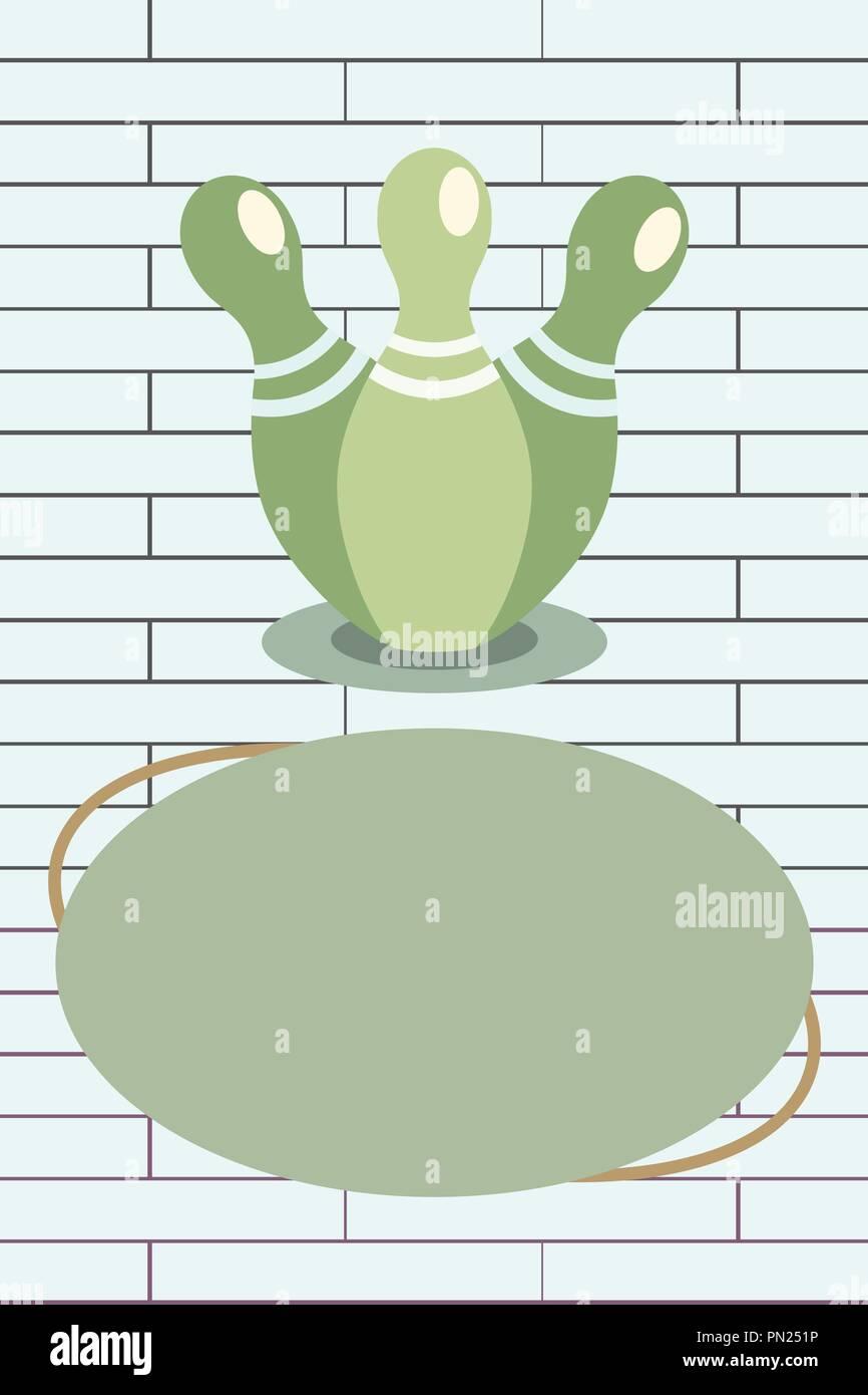 Diseño Plano Business Ilustración Vector Plantilla Vacía