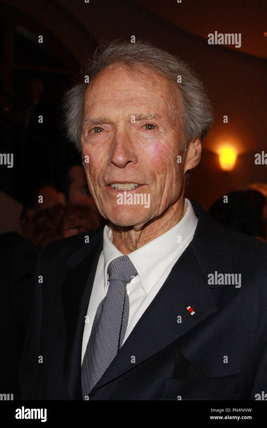 Clint Eastwood 02/06/2016 2016 la Sociedad de los operadores de cámara Lifetime Achievement Awards celebrado en el teatro Paramount en Hollywood, CA Foto por Kazuki Hirata / HNW / PictureLux Imagen De Stock