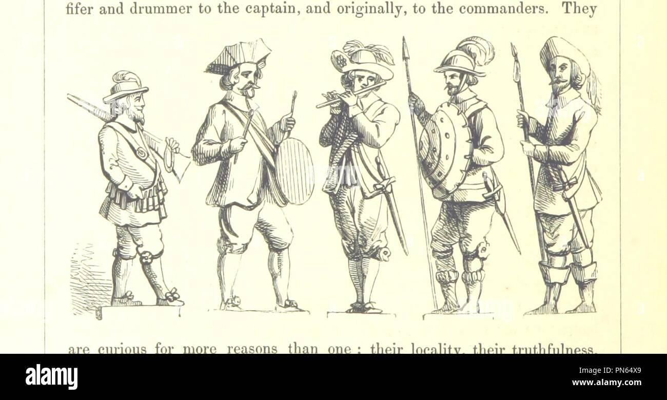 """Imagen de la página 164 de """"Las peregrinaciones a los santuarios en Inglés . Con notas e ilustraciones por F. W. Fairholt' . Imagen De Stock"""