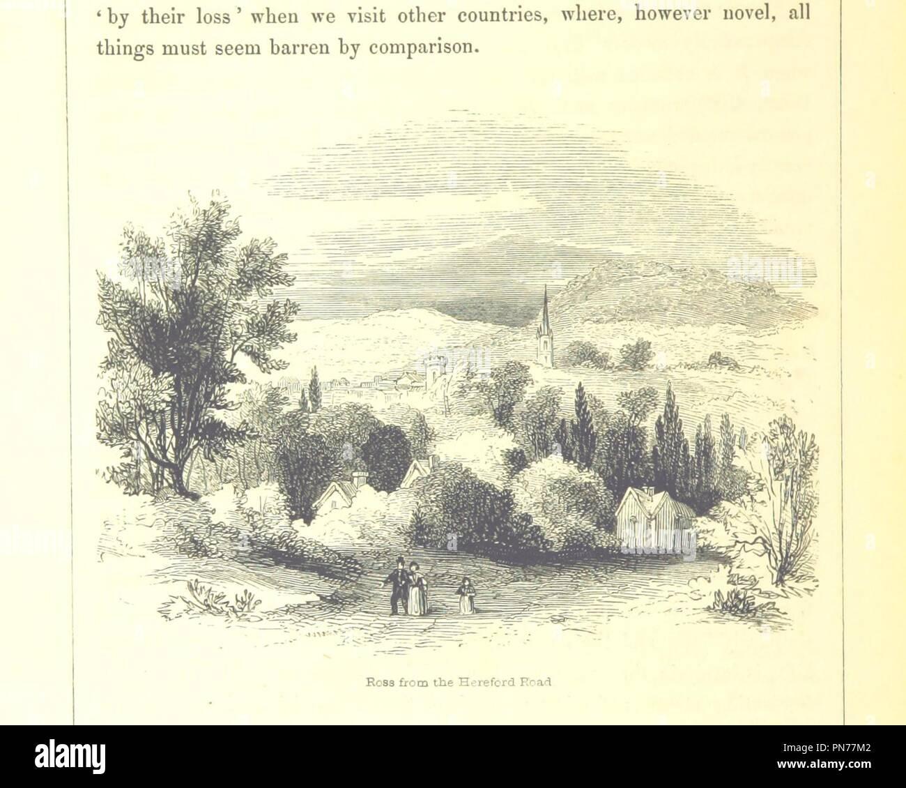 """Imagen de la página 282 de """"Las peregrinaciones a los santuarios en Inglés . Con notas e ilustraciones por F. W. Fairholt' . Imagen De Stock"""